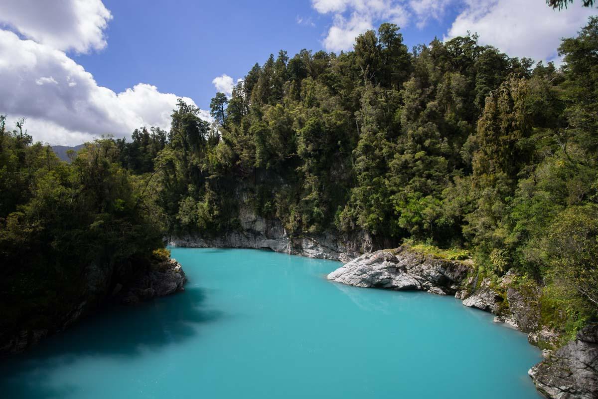 Hokitika Schlucht in Neuseeland