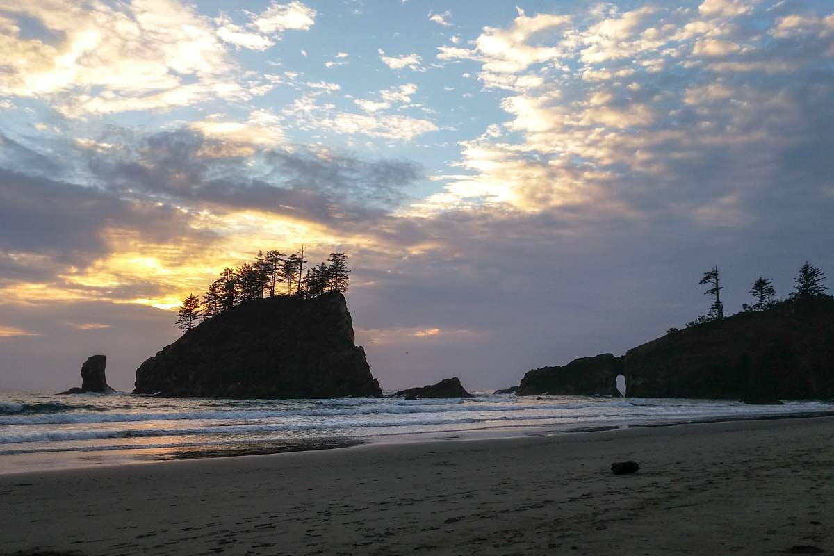 Second Beach (Olympic Nationalpark)