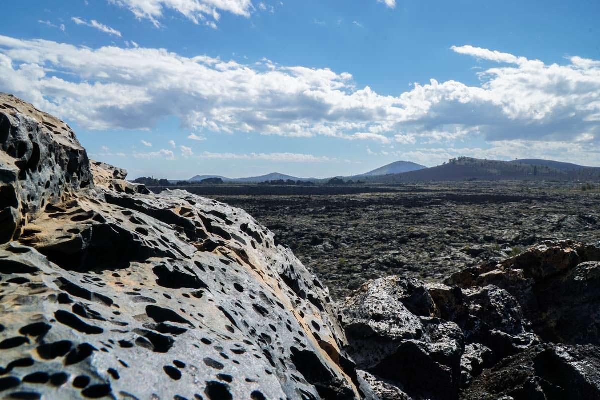 Lavagestein im Craters of the Moon NM