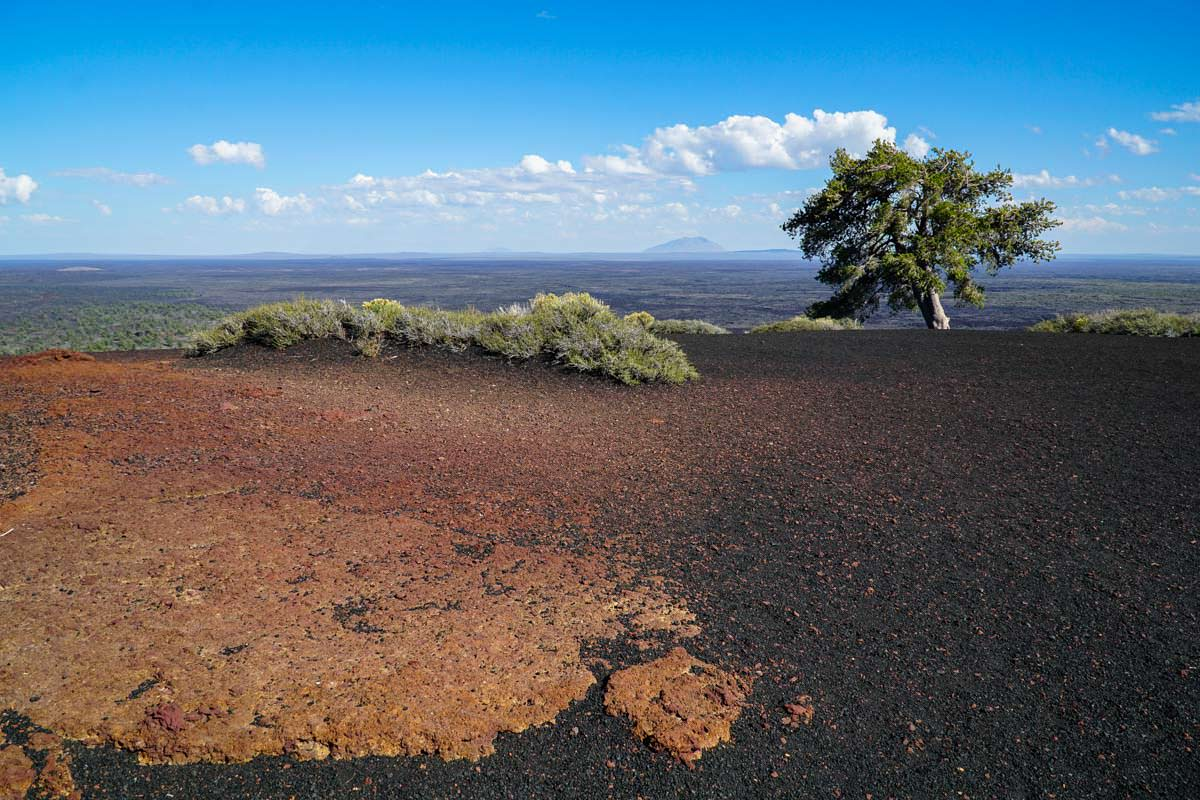 Inferno Cone Viewpoint im Craters of the Moon NM