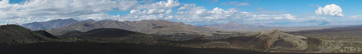 Panorama vom Craters of the Moon NM