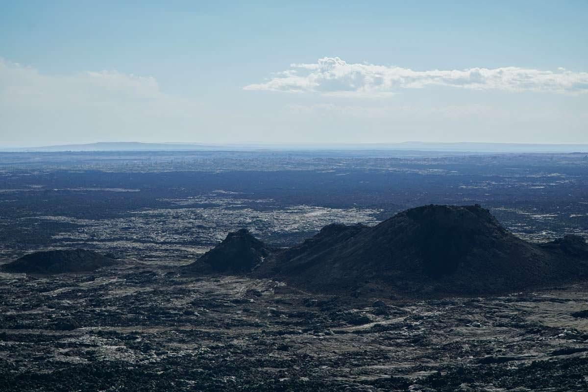 Vulkanlandschaft im Craters of the Moon NM
