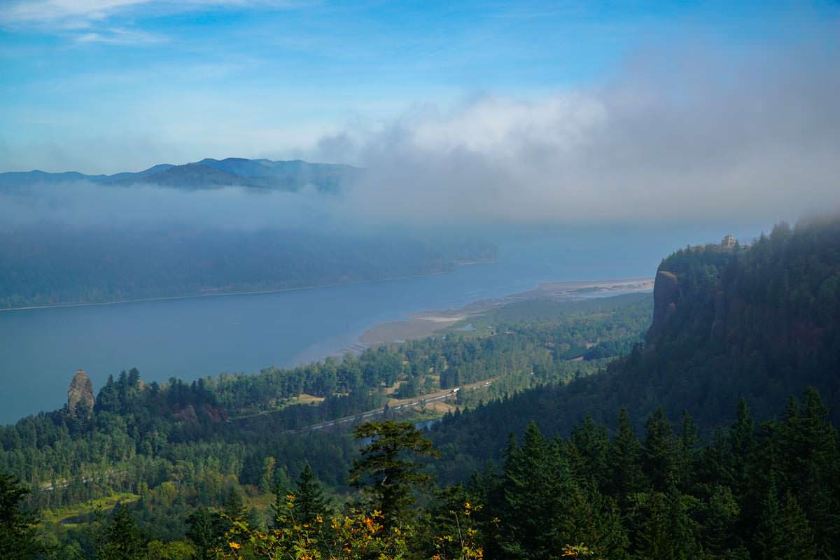 Viewpoint Women´s Forum am Columbia River Gorge