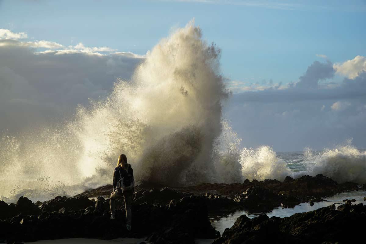 Wellenbrecher am Cook´s Chasm (Oregon Coast)