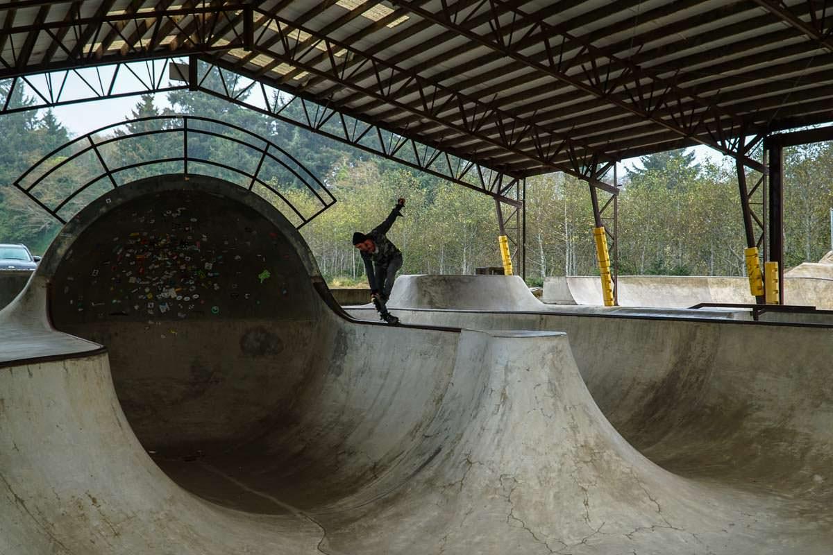 Skatepark in Lincoln City