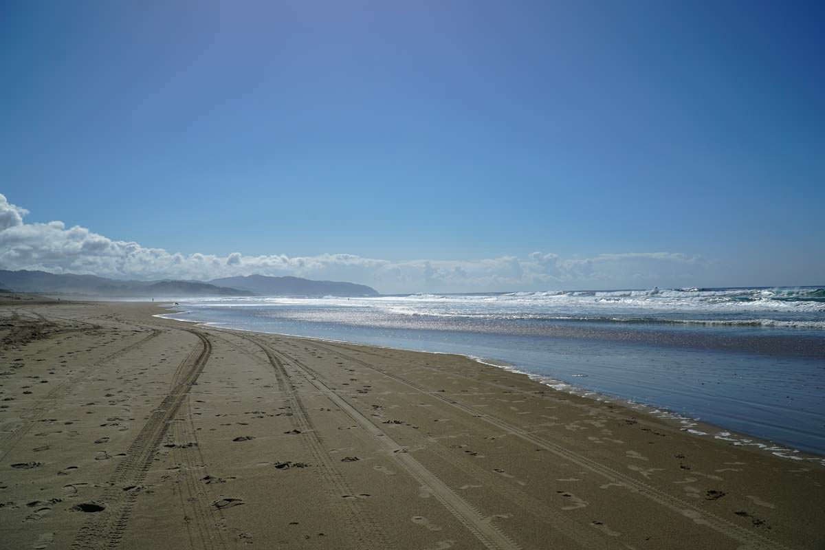 Strand von Cape Kiwanda (Oregon Coast)