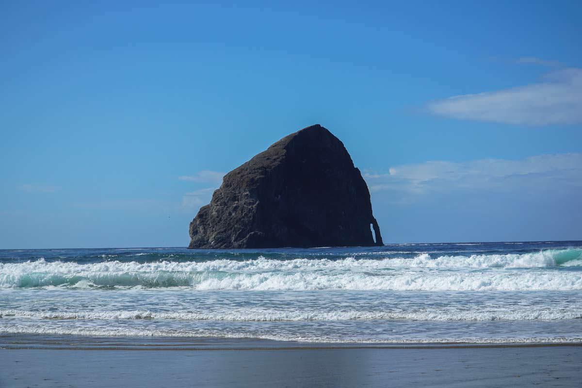 Haystack Rock am Cape Kiwanda (Oregon Coast)