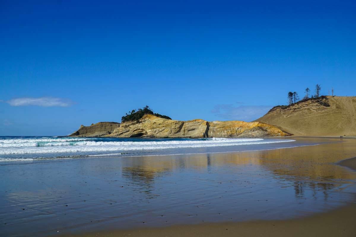 Sanddüne am Cape Kiwanda (Oregon Coast)