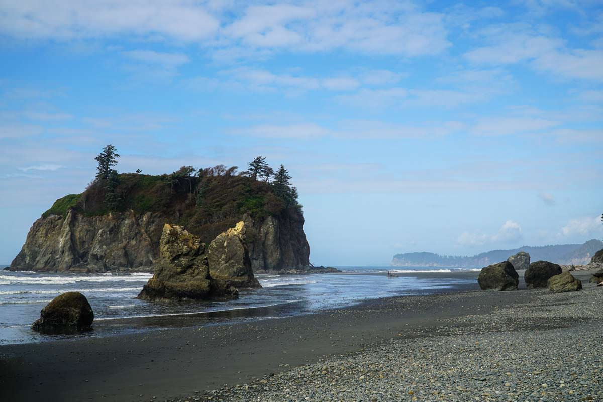 Ruby Beach (Olympic Nationalpark)
