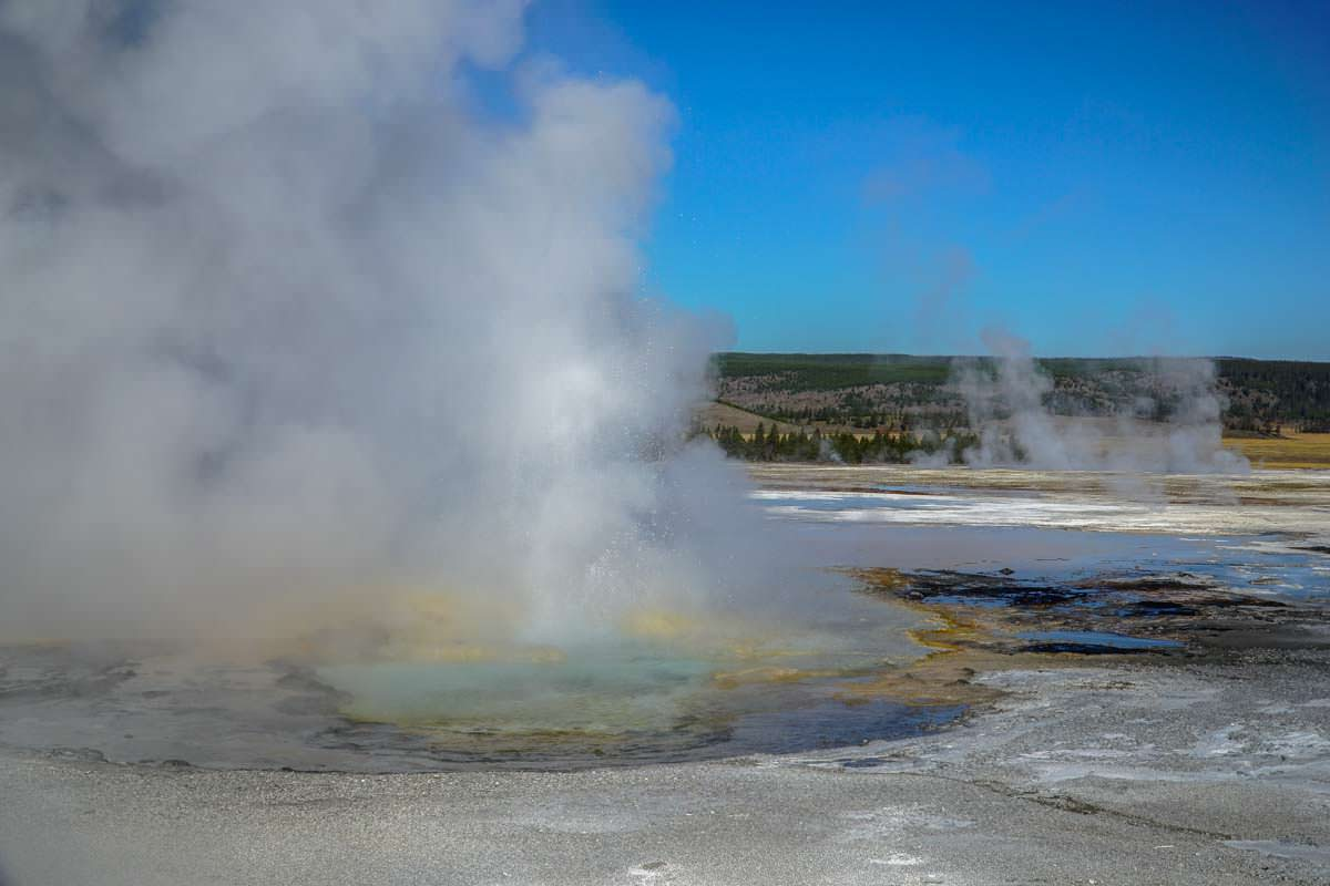 Lower Geysir Basin im Yellowstone NP