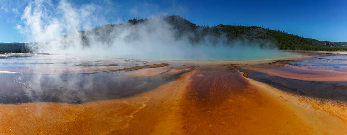 Grand Prismatic Spring im Yellowstone NP