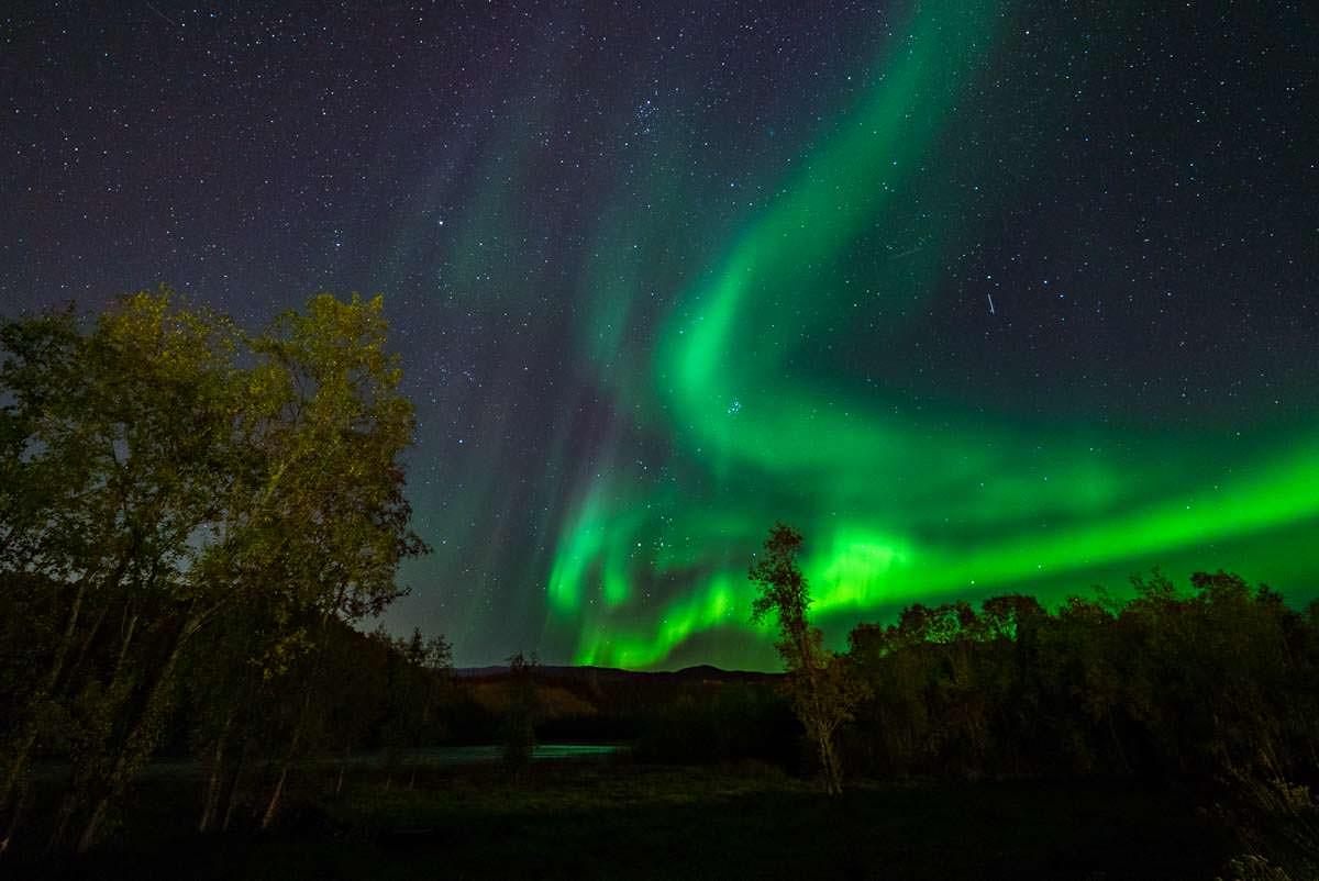 Nordlichter in Alta (Norwegen)