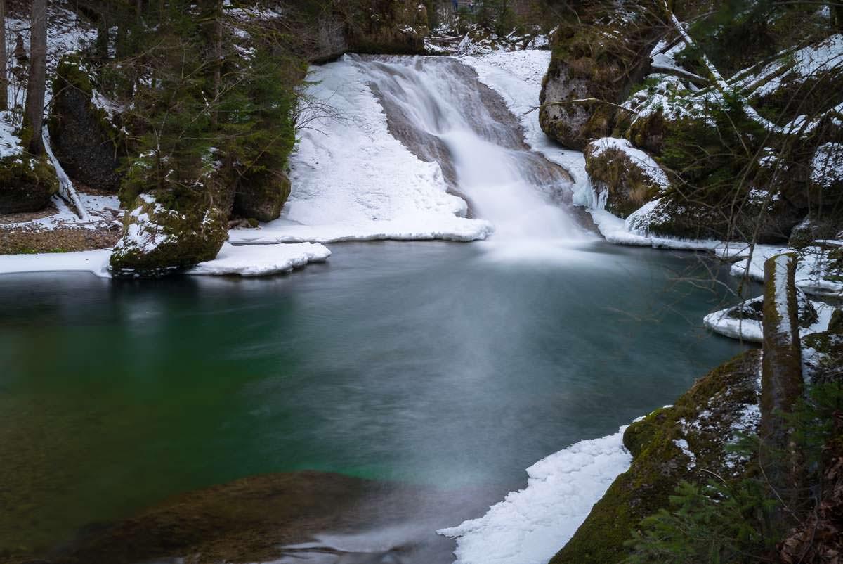 Großer Wasserfall (Eistobel im Winter)