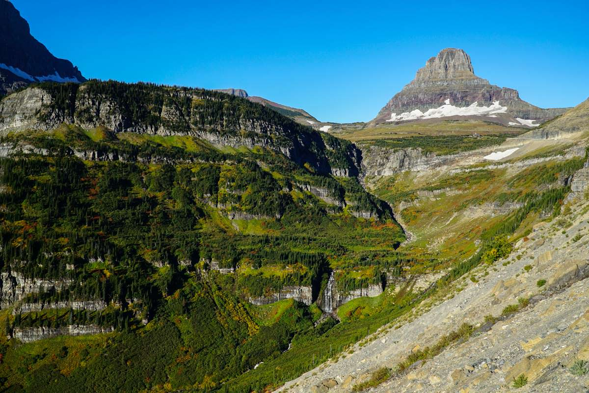 Clements Mountain im Glacier NP