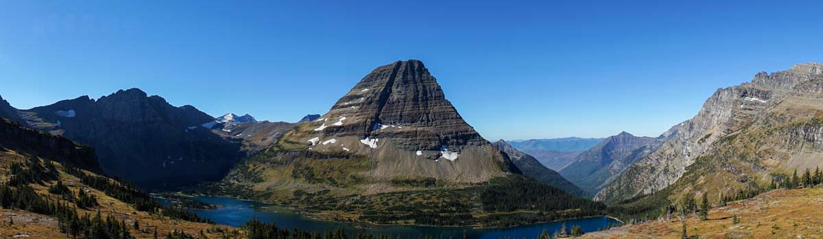 Hidden Lake Overlook im Glacier Nationalpark