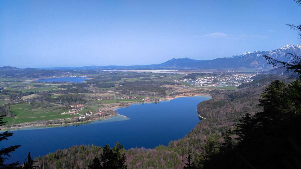 Vier-Seen-Blick in Füssen