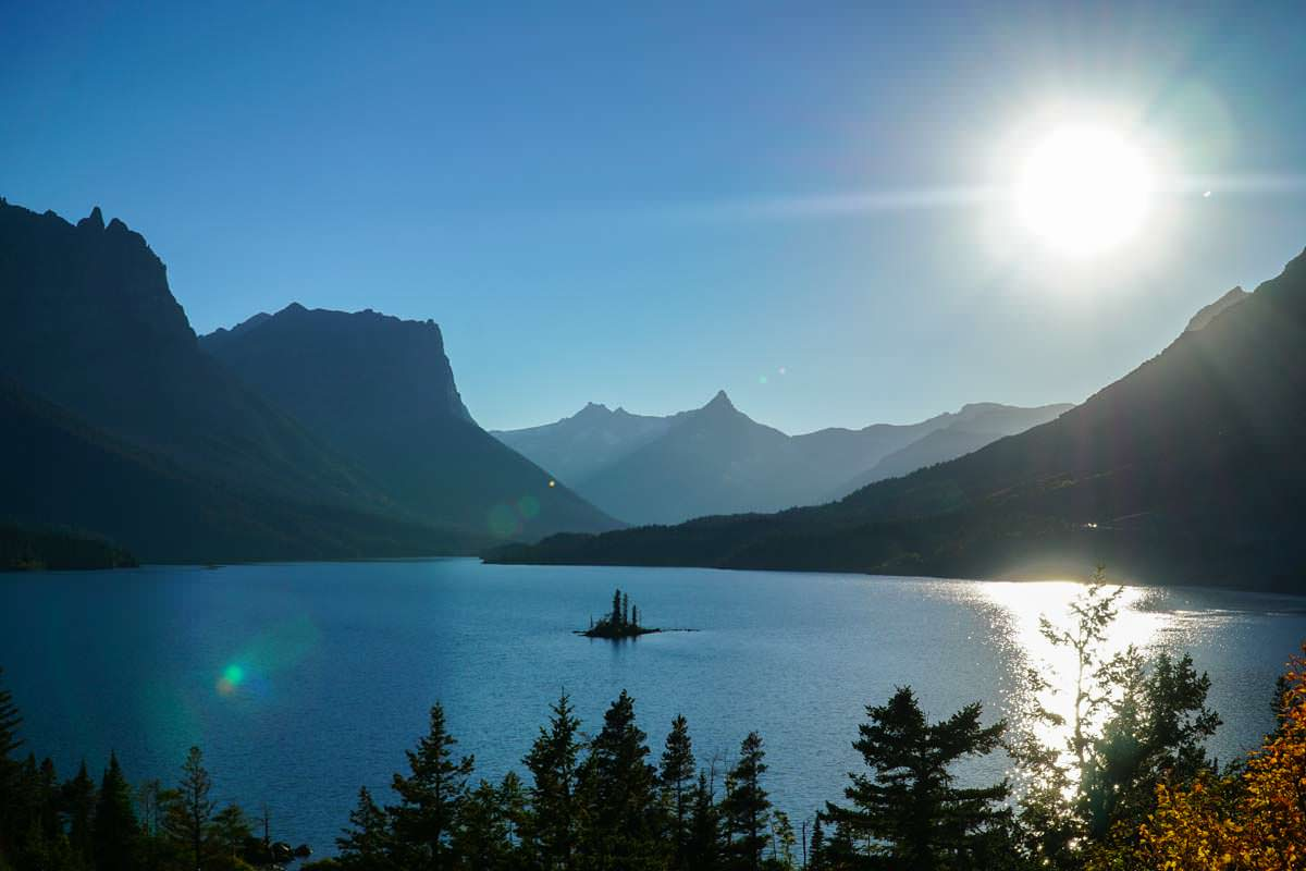 St. Mary Lake im Glacier NP