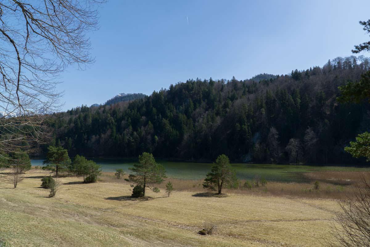 Der Obersee bei Füssen