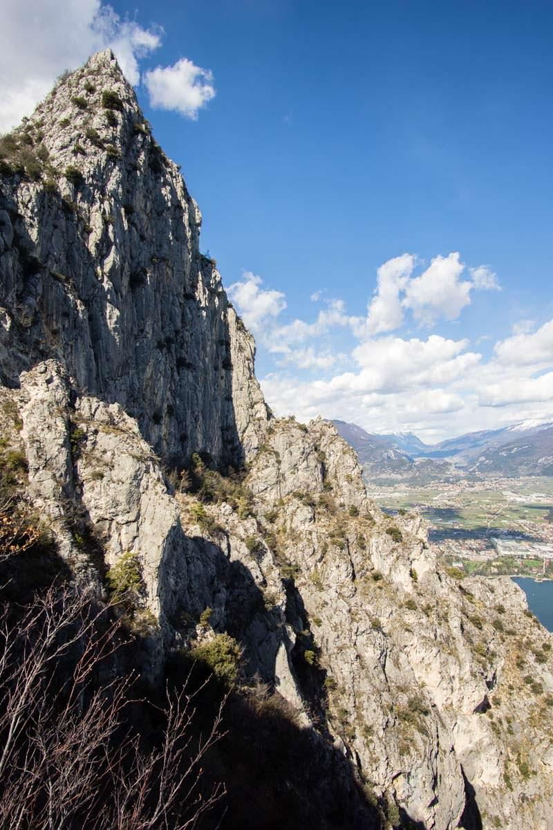 Gipfel der Cima Capi