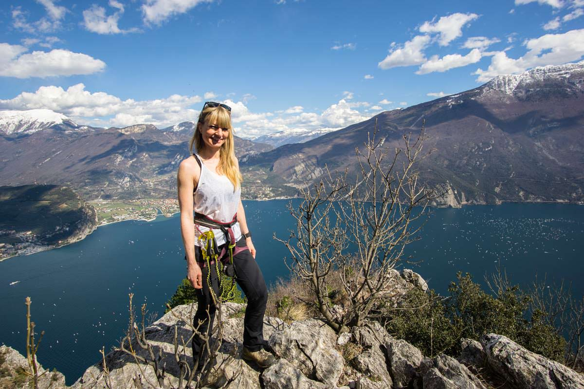 Klettersteig auf der Cima Capi