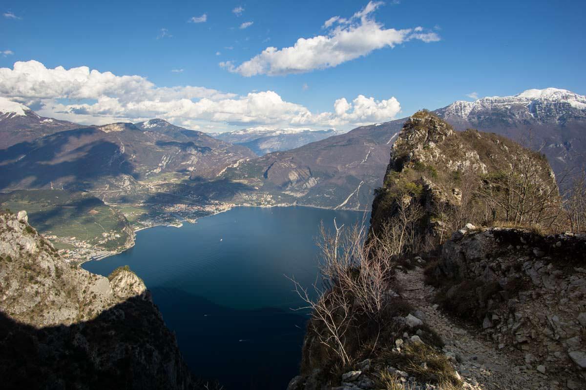 Gipfel vom Cima Capi