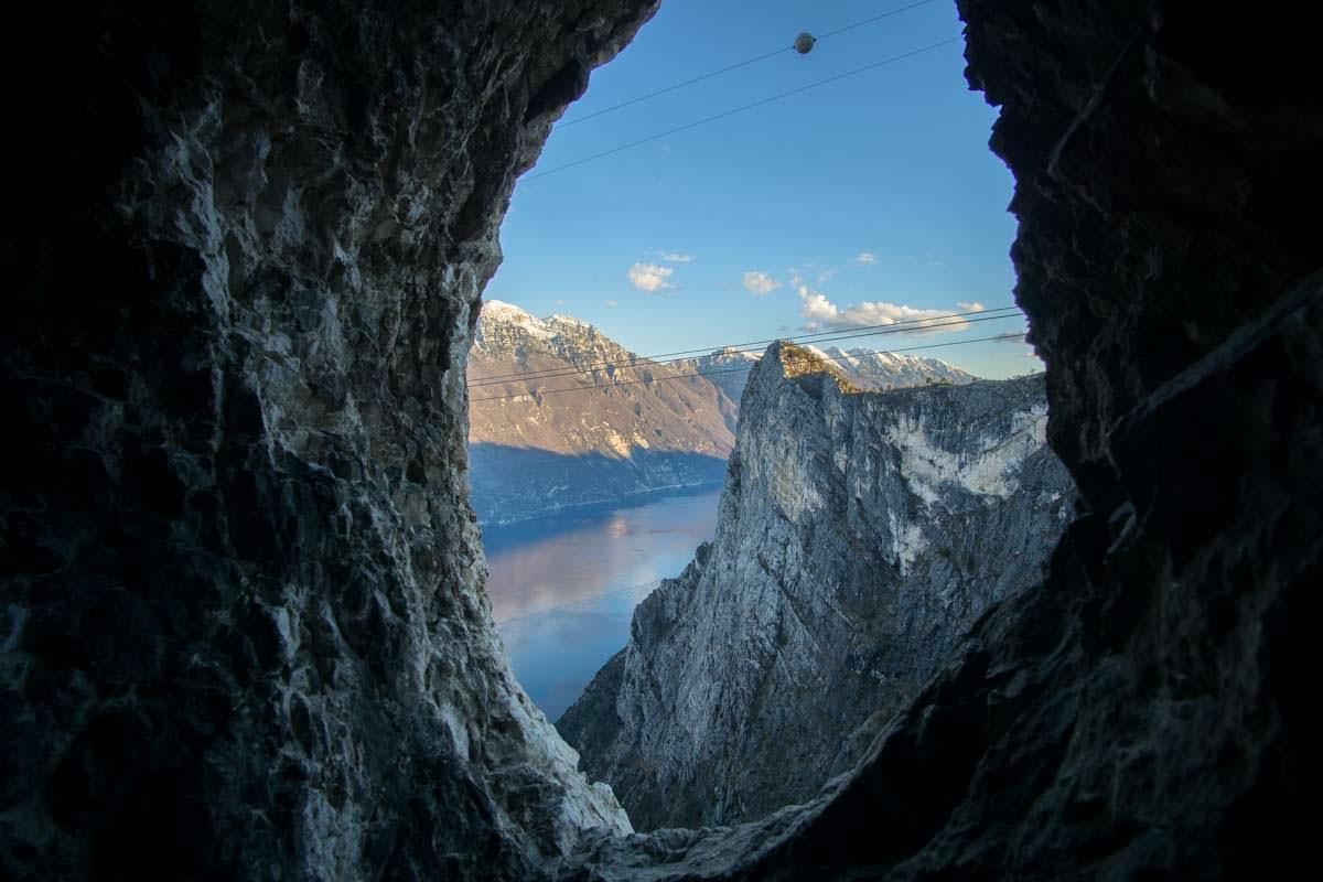 Klettersteig Cima Capi : Gardasee klettersteigtour auf die cima capi travel more babble