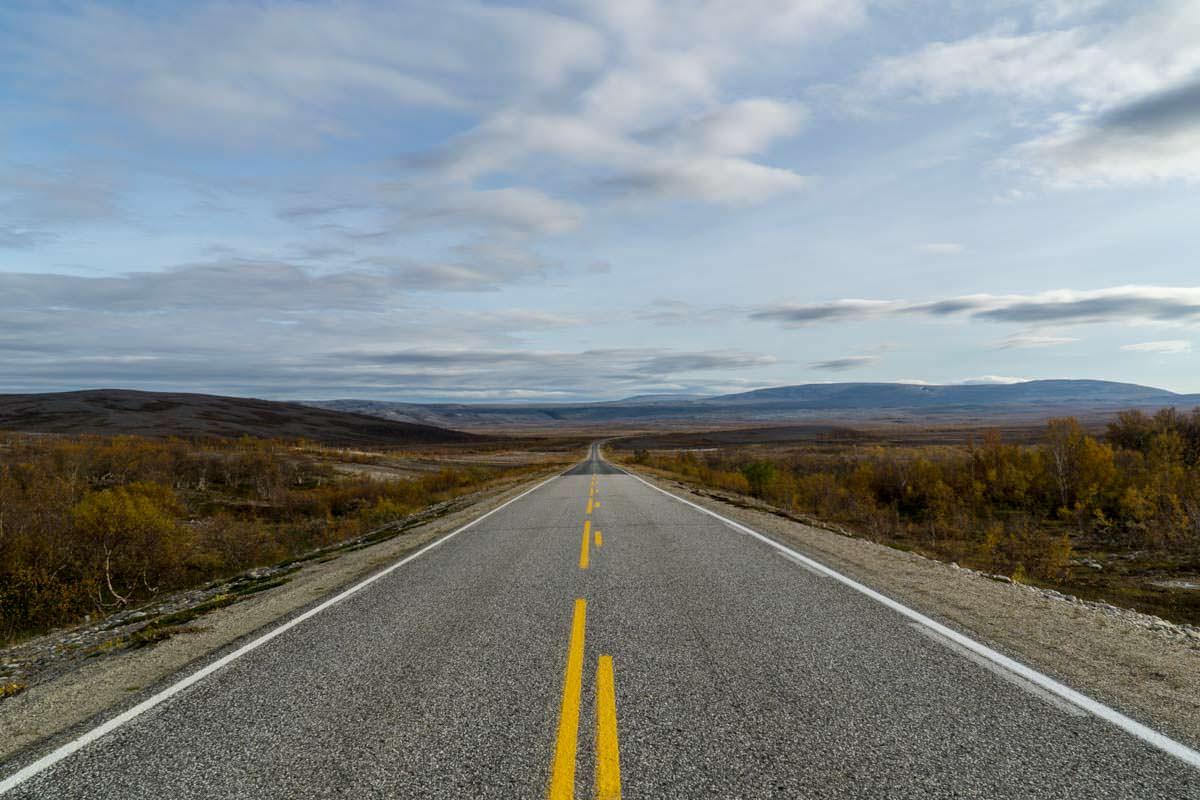 Die Eismeerstraße (Finnmark)