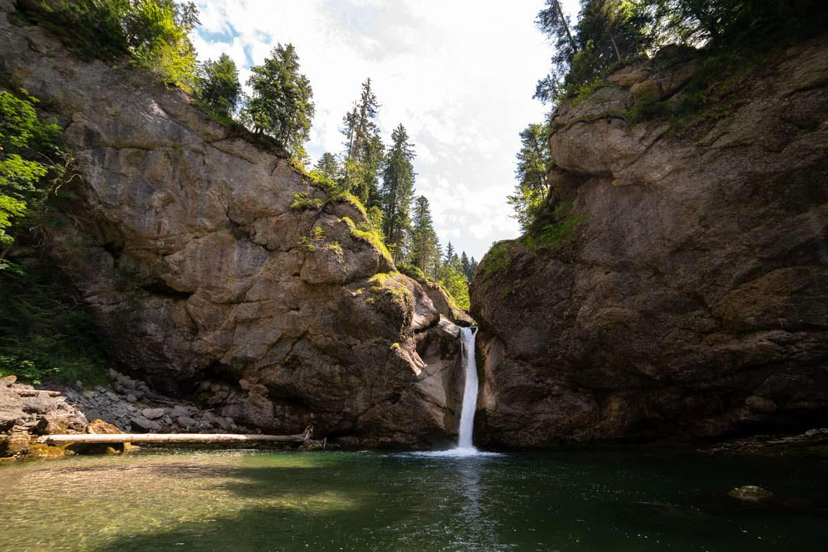 Unterer Buchenegger Wasserfall