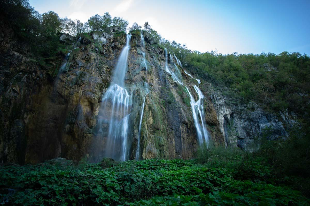 Veliki Slap (Großer Wasserfall) im Nationalpark Plitvicer Seen