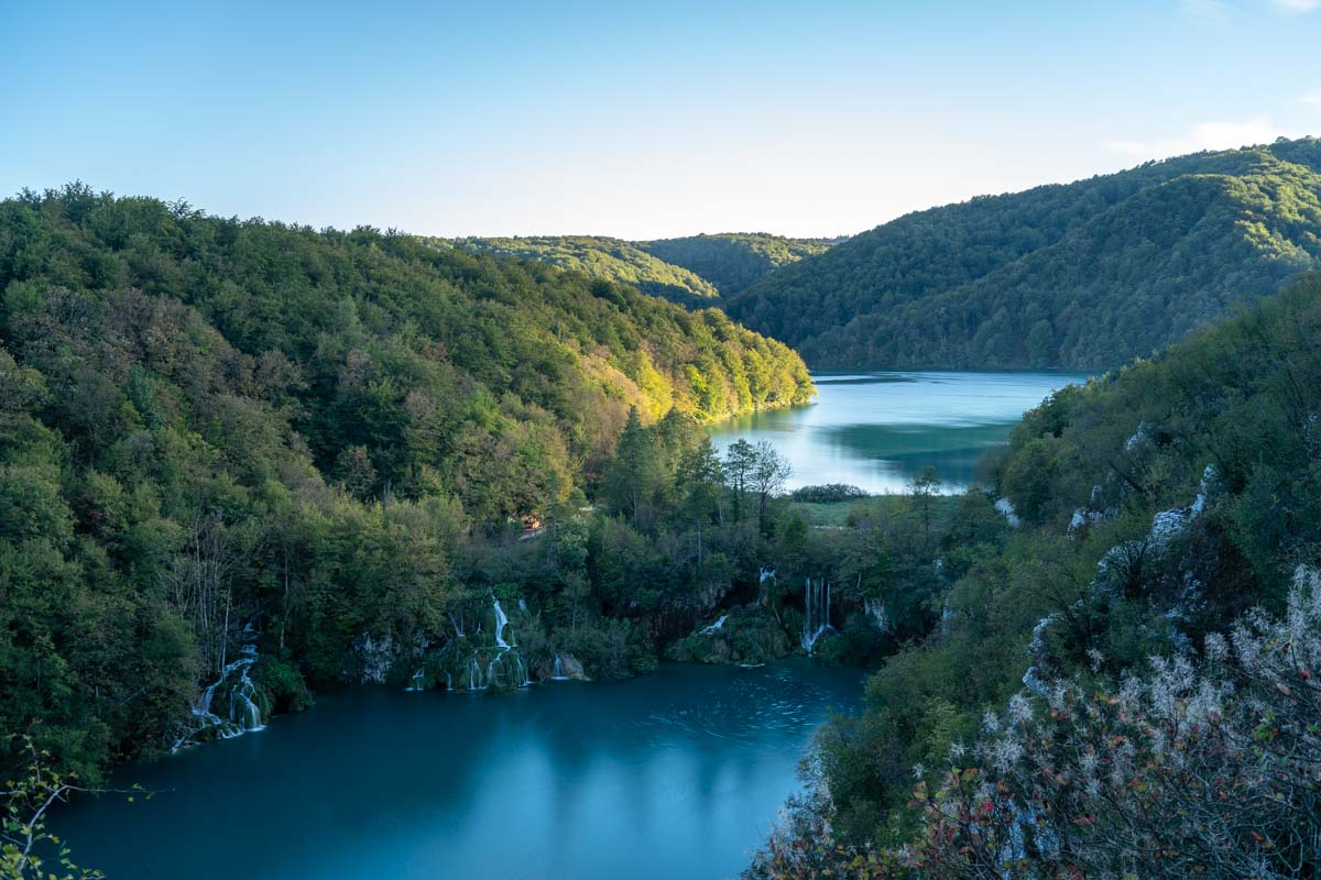 Wasserfälle an den Unteren Seen im Nationalpark Plitvicer Seen