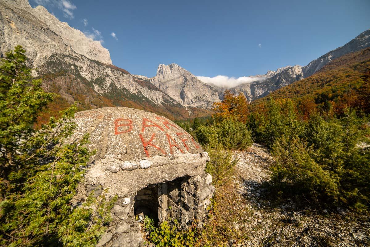 Arapi in den Albanischen Alpen (Theth, Albanien)