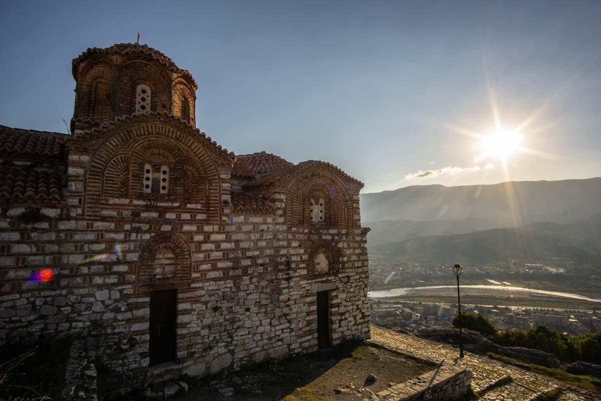Kisha Shen Triadha (Berat, Albanien)