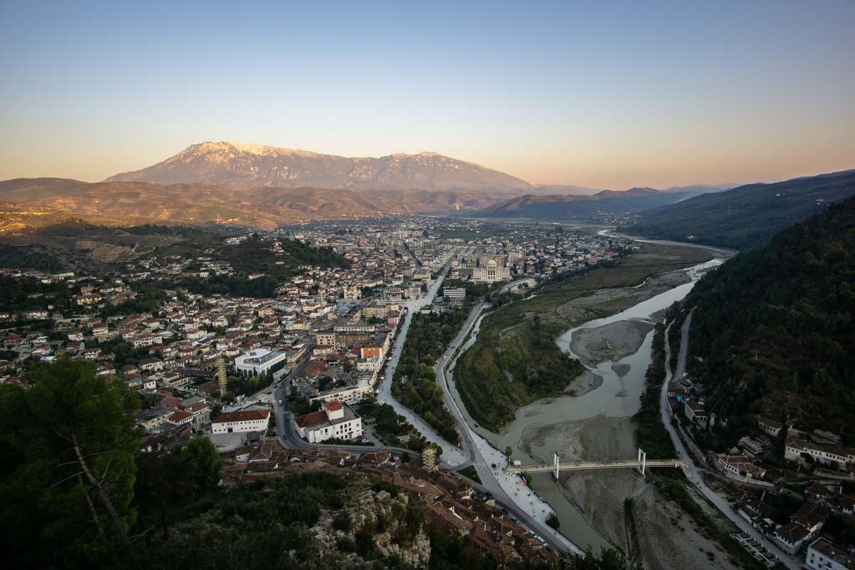 Berat von Oben (Albanien)