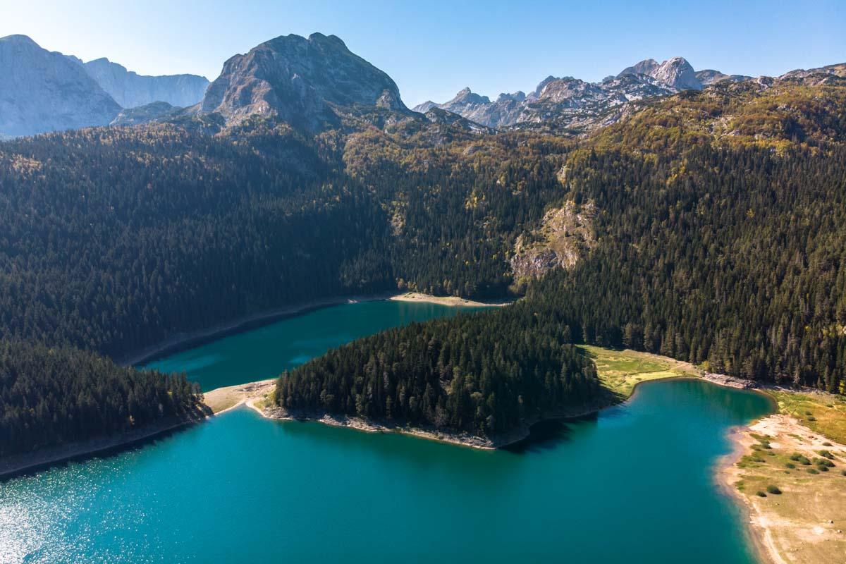 Crno Jezero (Schwarzer See) im Durmitor Nationalpark (Montenegro)