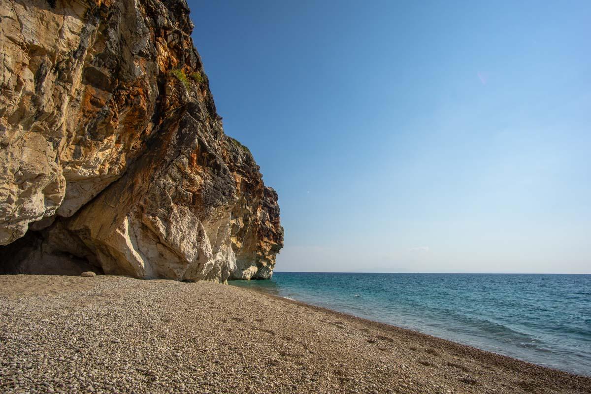 Bucht am Gjipe Beach (Albanien)