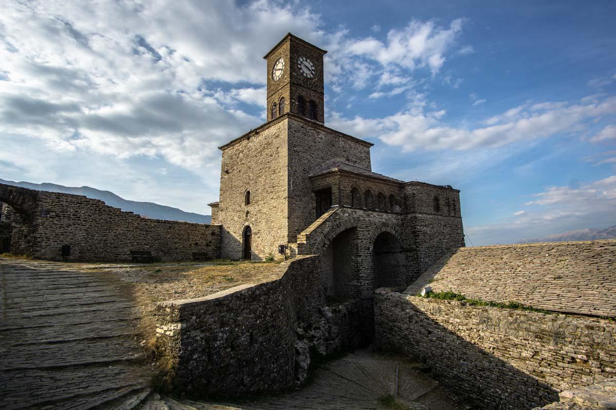 Burg von Gjirokastra (Albanien)