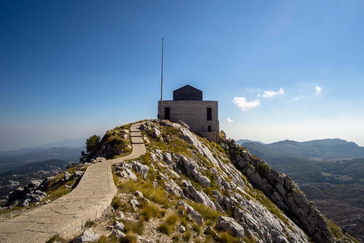 Njegos Mausoleum (Lovcen NP, Montenegro)