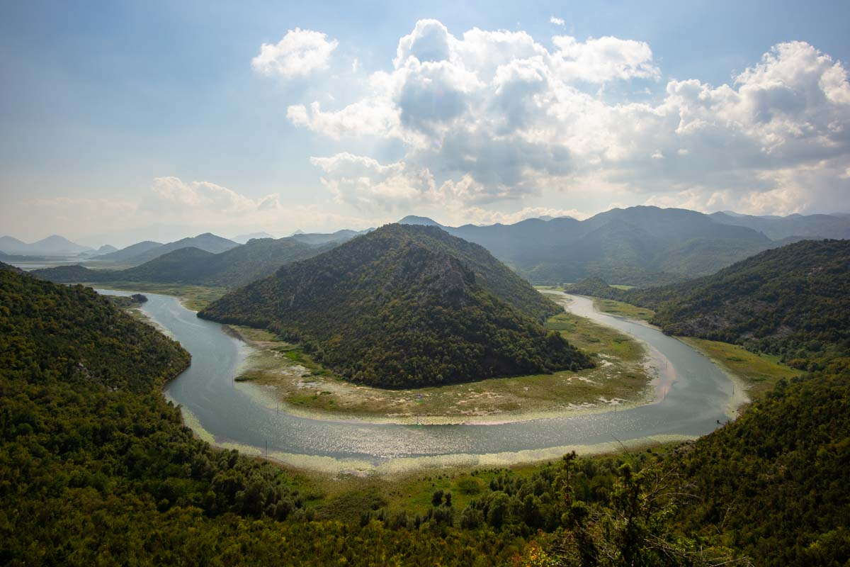 Aussichtspunkt Pavlova Strana (Rijeka Crnojevica Fluss, Skadar See, Montenegro)