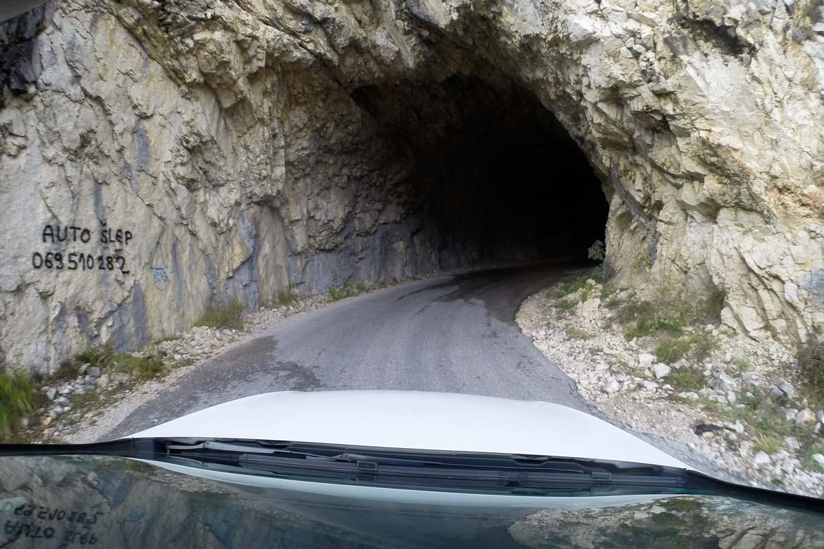 Straße in Montenegro