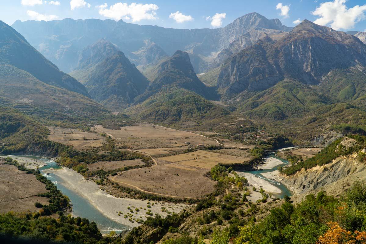 Fluss Viosa bei Permet (Albanien)