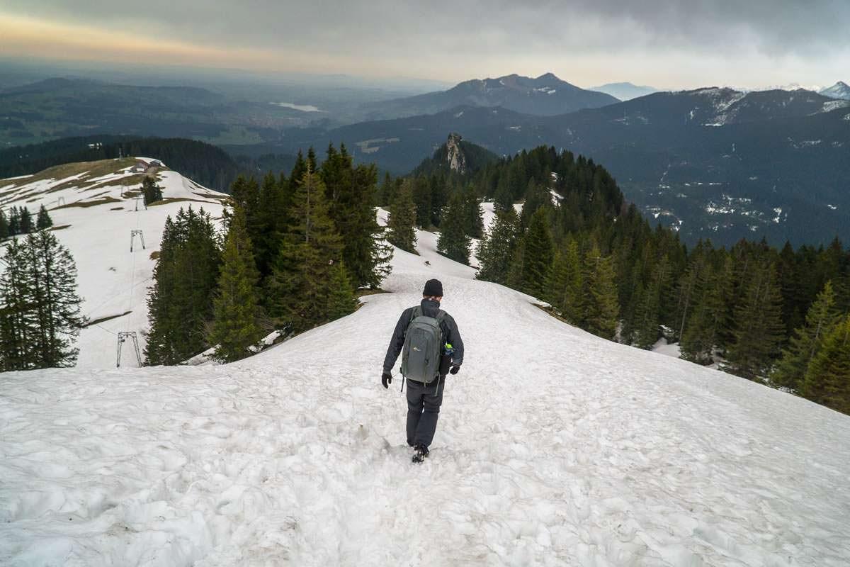 Winterwandern am Grünten
