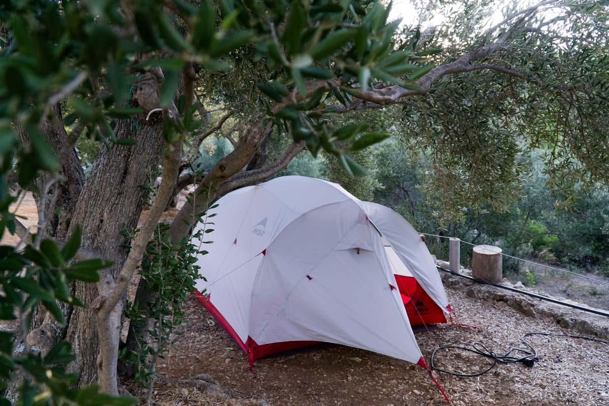 Campingplatz Marina auf der Insel Mljet