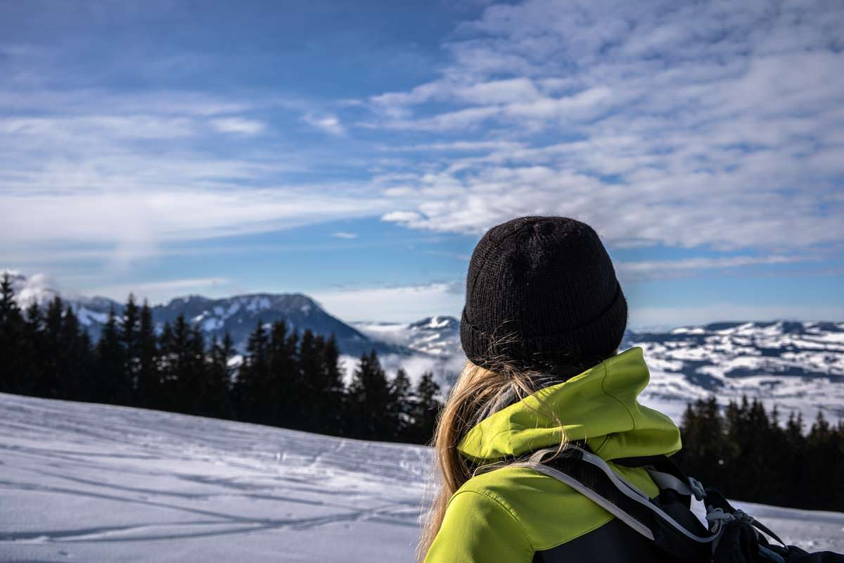 Aussicht vom Grünten über Oberallgäu