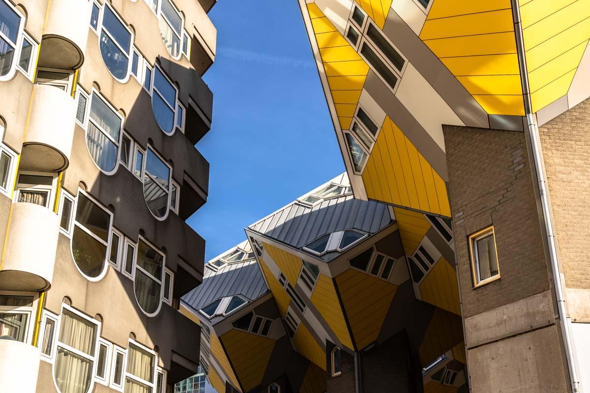 Kijk Kubus von Piet Blom (Rotterdam)