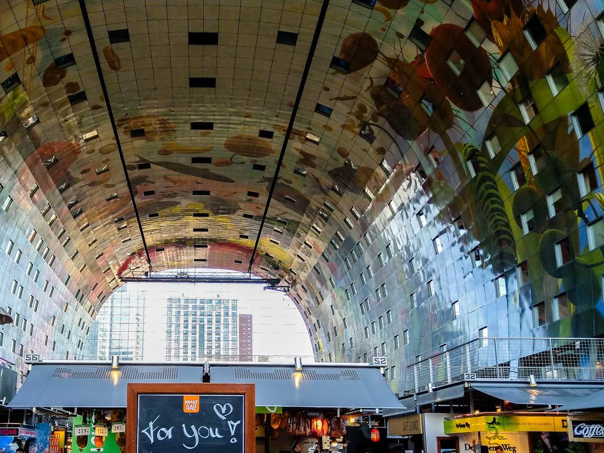 Markthalle von Innen (Rotterdam)