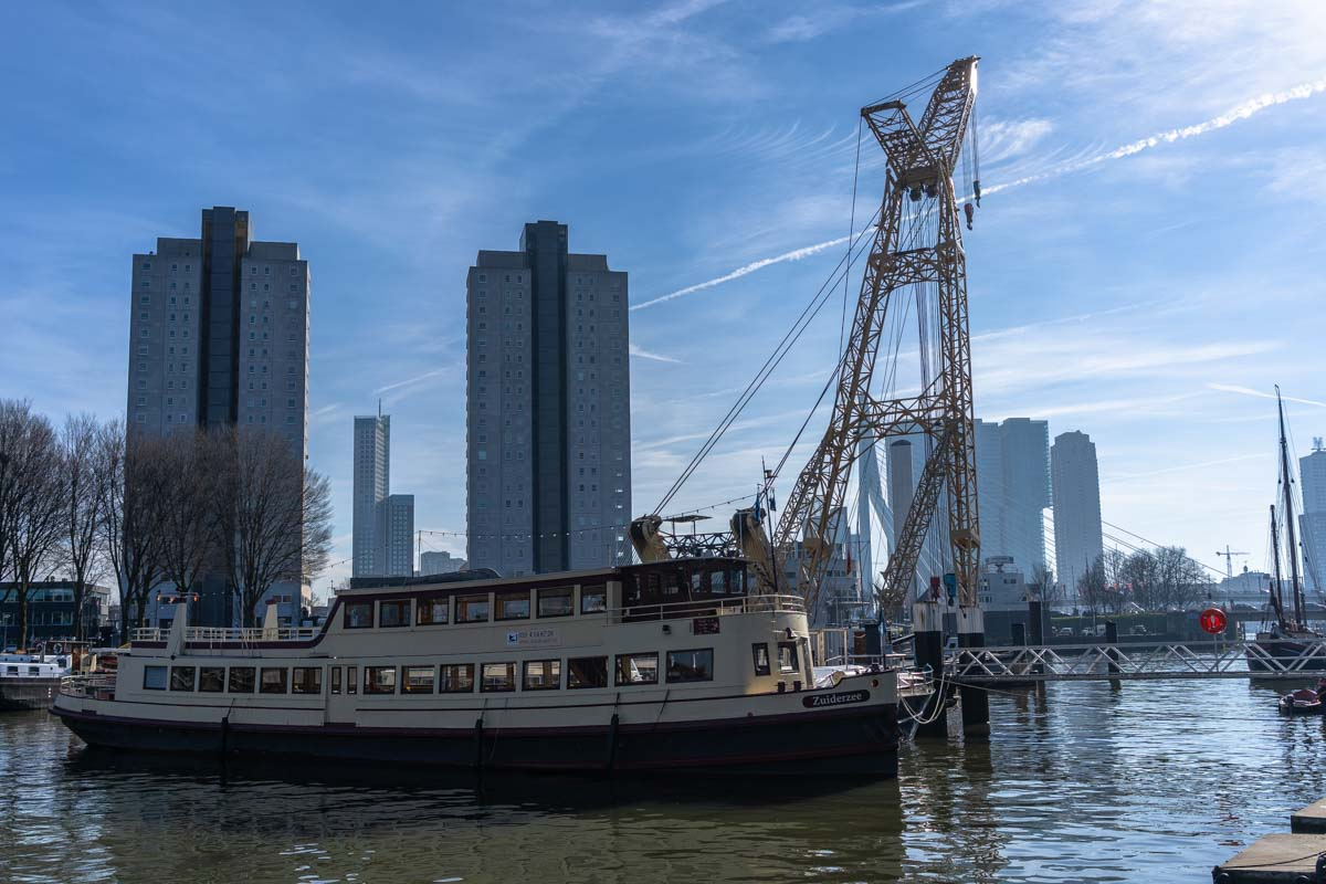 Leuvehaven am Morgen (Rotterdam)
