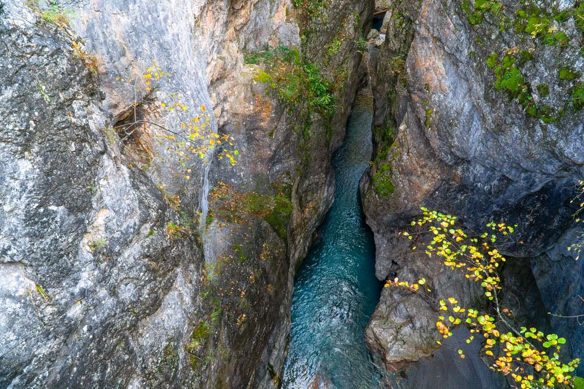 Grunas Schlucht (Theth, Albanien)