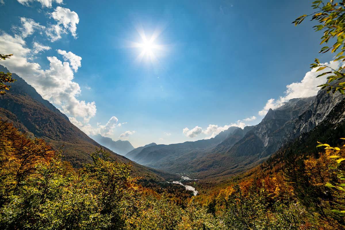 Tal von Theth (Albanische Alpen)