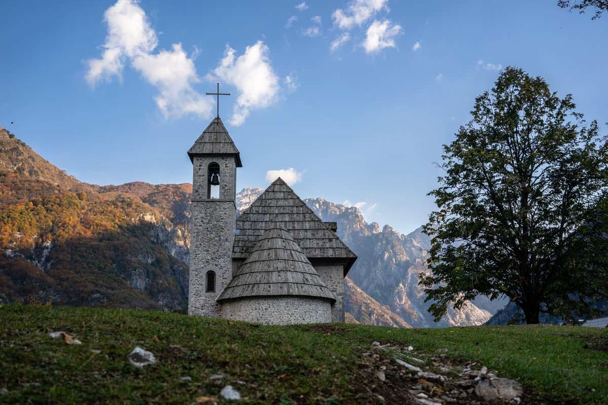 Dorfkirche von Theth (Albanien)