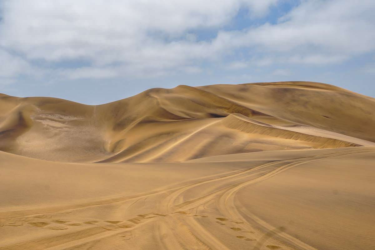Dünen im Dorob Nationalpark (Namibia)